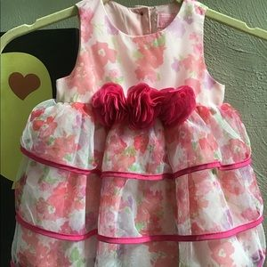 Baby girl flowers dress— The Children's Place